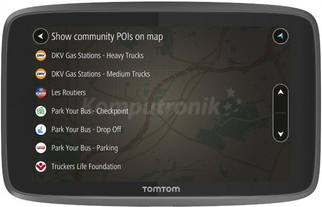 GPS-навігатор автомобільний TomTom GO PROFESSIONAL 6250 EU wifi /lifetime Traffic