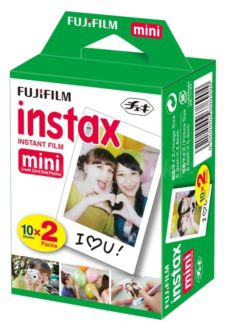 Вкладыши для аппаратов мгновенной печати Fuji Instax mini film 2 pack