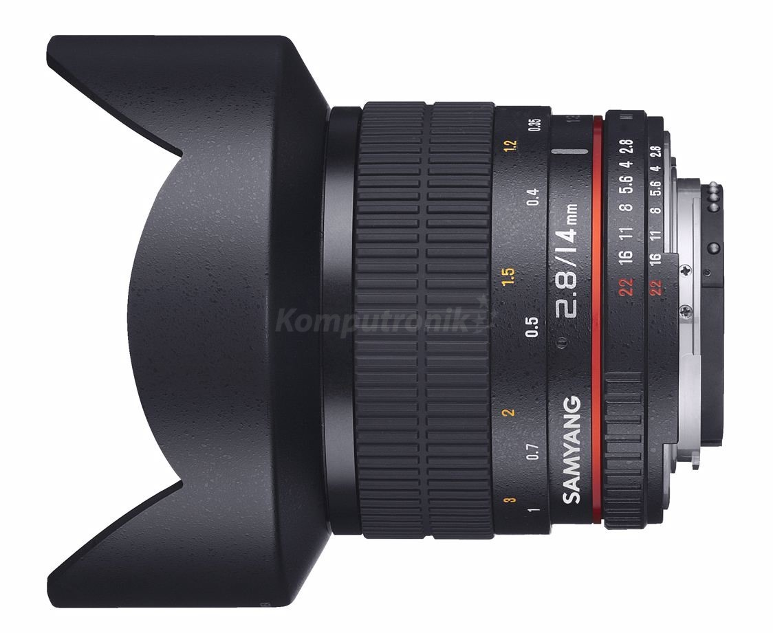 Samyang 14MM F/2.8 ED AS IF UMC  Aspherical Nikon AE