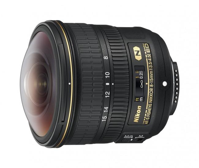 Nikkor AF-S 8-15mm f/3.5-4.5E ED Fisheye