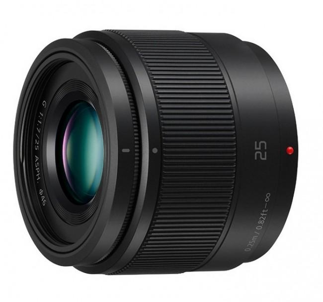 Об'єктив Panasonic LUMIX G 25mm/F1.7 II ASPH black
