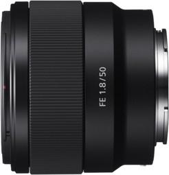 Sony 50 mm f/1.8 do FF mount typu E