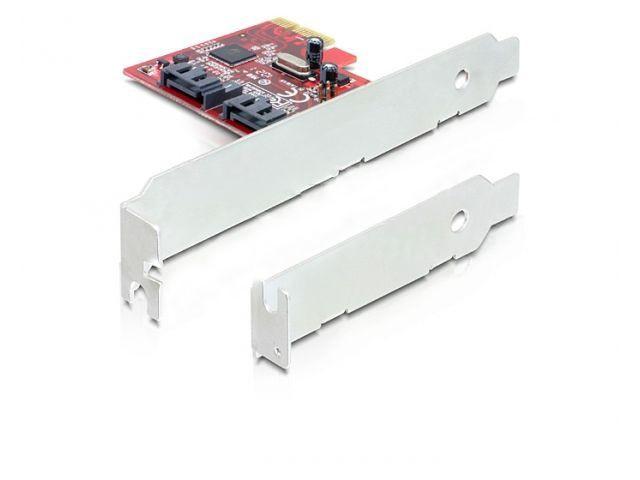 Delock karta PCI Express 2 x wewnetrznie SATA III 6Gb/s