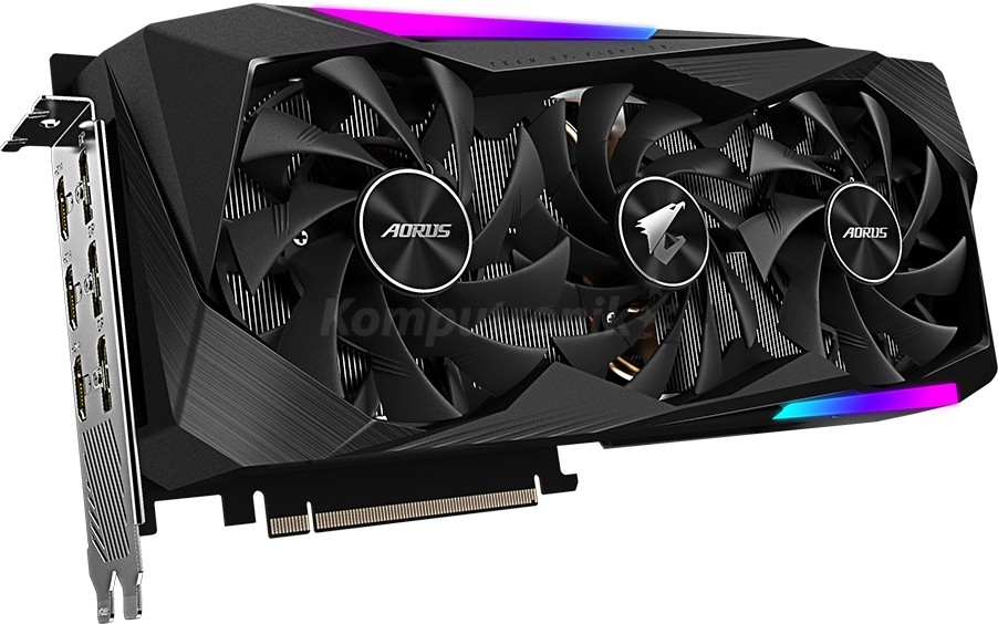 Gigabyte GeForce RTX 3070 AORUS MASTER 8GB