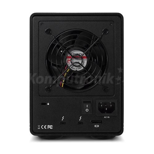 OWC ThunderBay 4  4xSSD/HDD RAID-5 2xThunderbolt 3