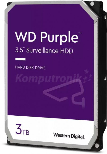 Жесткие диск WD Purple 3TB