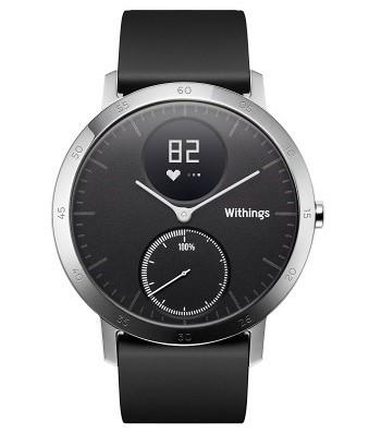 Withings Activity Steel HR (40mm) - black