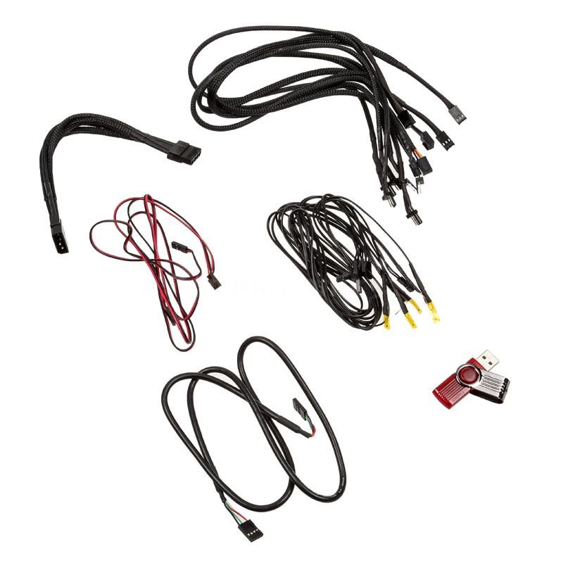 Lamptron CM615 Fan Controller - black