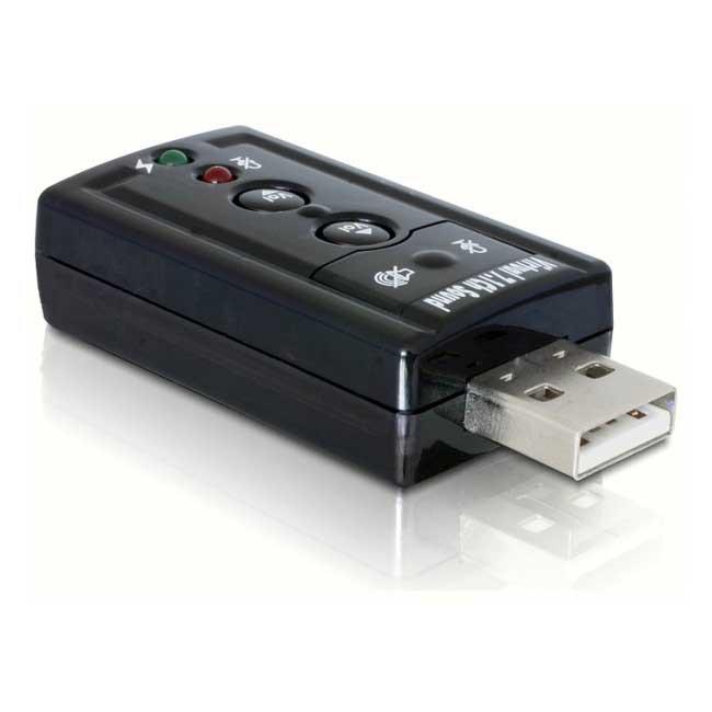 Звукова карта (зовнішня) Delock sound card on USB 7.1