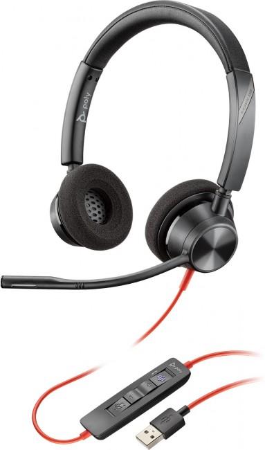 Plantronics Blackwire C3320 black USB-A