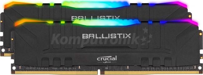 Crucial Ballistix Black RGB 16GB [2x8GB 3200MHz DDR4 CL16 DIMM]