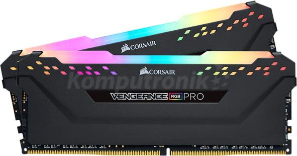 Corsair Vengeance RGB Pro Black 16GB [2x8GB 3000MHz DDR4 CL15 1.35V DIMM]
