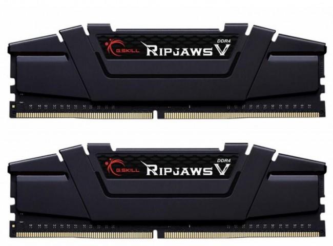G.SKILL RipjawsV 32GB Black [2x16GB 3200MHz DDR4 CL14 XMP 2.0 1.35V DIMM]