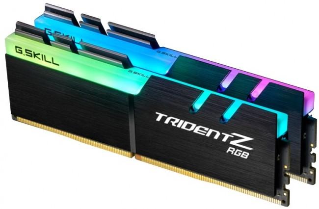 G.SKILL Trident Z RGB 16GB [2x8GB 3200MHz DDR4 CL16 1.35V XMP 2.0 DIMM]