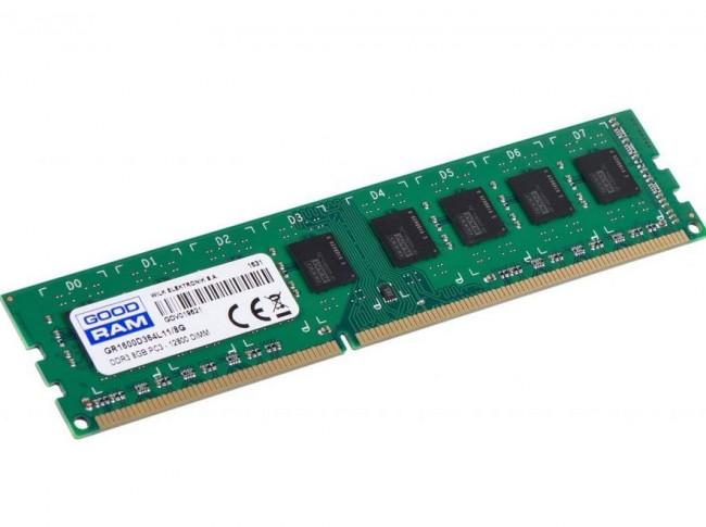Память GOODRAM 8GB [1x8GB 1600MHz DDR3 CL11 DIMM]