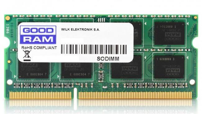 Память GOODRAM 8GB [1x8GB 1600MHz DDR3 CL11 1.35V SODIMM]