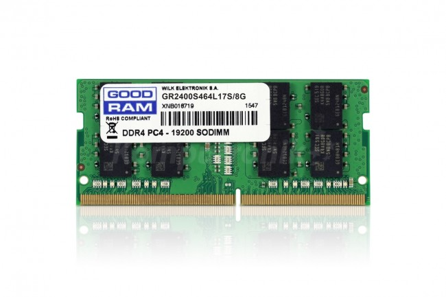 GOODRAM 8GB [1x8GB 2400MHz DDR4 CL17 SODIMM]