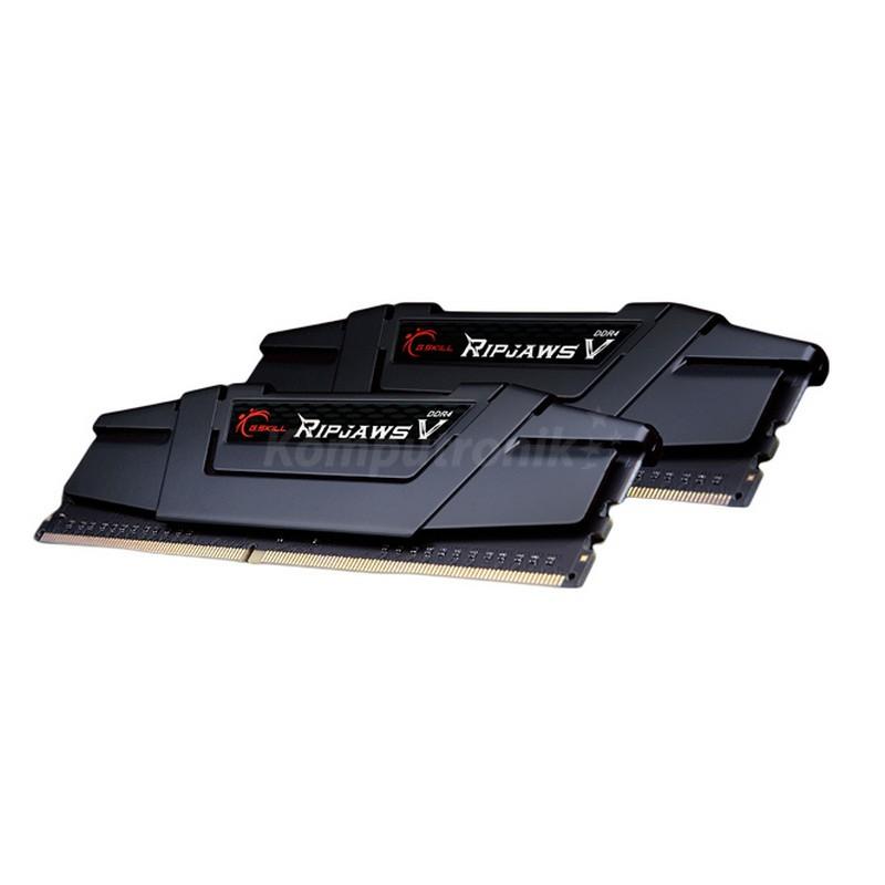 G.SKILL RipjawsV 16GB Black [2x8GB 3200MHz DDR4 CL16 rev2 DIMM]
