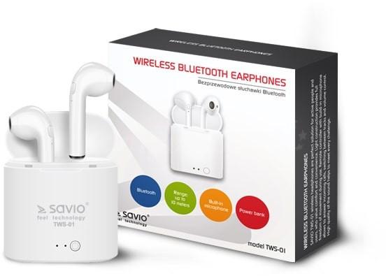 Savio TWS-01 White