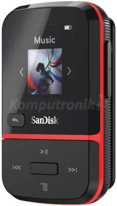 SanDisk Clip Sport Go 16GB red