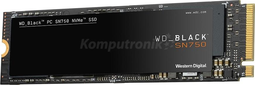 WD Black SN750 M.2 PCIe NVMe 500GB