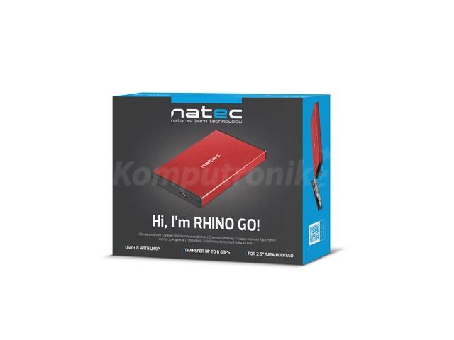 Natec Rhino Go red