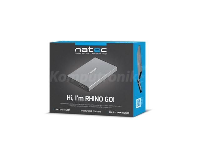 Natec Rhino Go grey