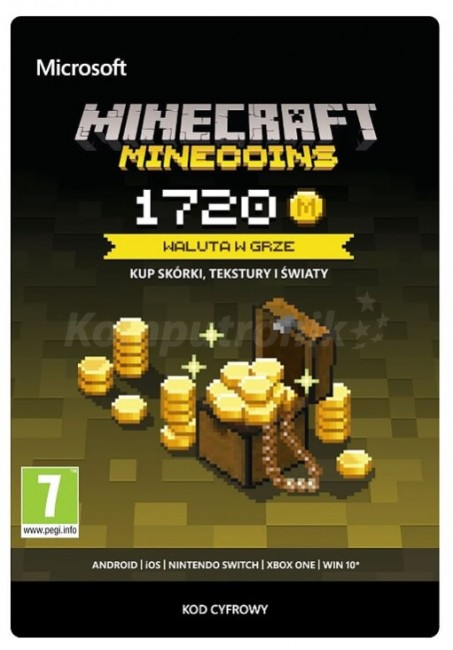 Minecraft Minecoins Pack 1720 Coins ESD ()