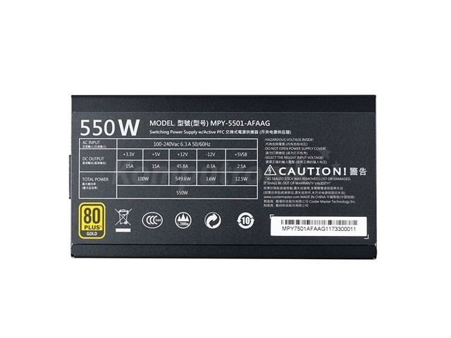 Cooler Master MWE 550W