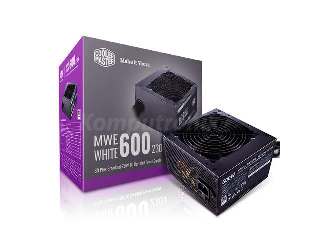 Cooler Master MWE White 600W V2 80+