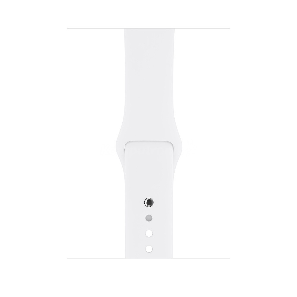 Apple Watch 3 - silver aluminium 42 | white sports strap