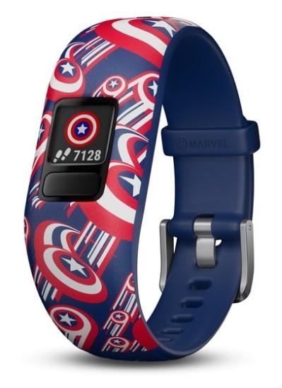 Смарт-часы Garmin Vivofit Junior 2 Marvel Captain America
