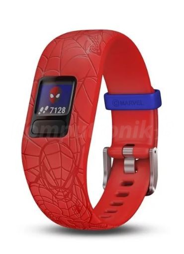 garmin-vivofit-junior-2-marvel-spider-man-red